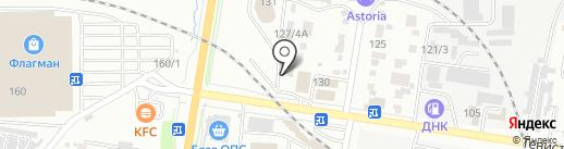 Подъем на карте Благовещенска