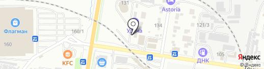 Сигнал на карте Благовещенска