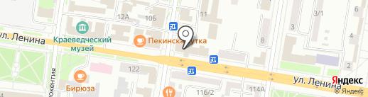 АКБ Росбанк на карте Благовещенска