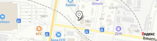 Бест-Студия на карте Благовещенска