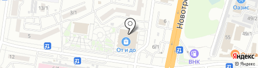 Плюшкин на карте Благовещенска