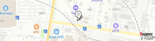 Фортуна на карте Благовещенска