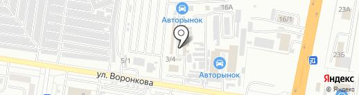 Автопрофи на карте Благовещенска