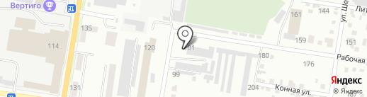 Амурполимер на карте Благовещенска