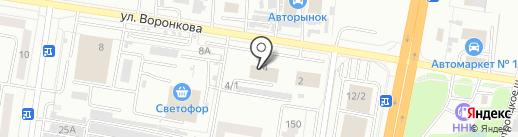 Всеинструменты.ру на карте Благовещенска
