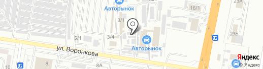T-max на карте Благовещенска