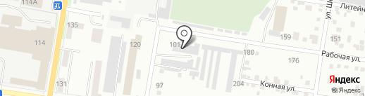 Фотон на карте Благовещенска