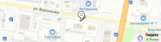 AUTOBAN на карте Благовещенска