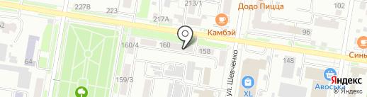 Амурское агентство экономической безопасности на карте Благовещенска