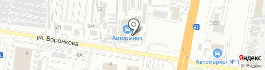 Р888АР на карте Благовещенска