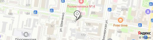 Т-Фарма на карте Благовещенска