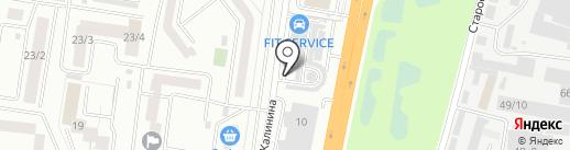 АВТОБАКС на карте Благовещенска