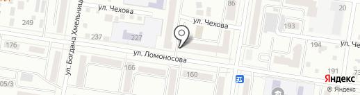 Жилкомсервис на карте Благовещенска