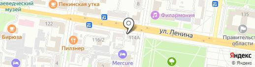 ТК на карте Благовещенска