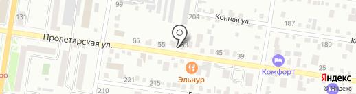Гидравликс на карте Благовещенска