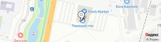 Капитошка на карте Благовещенска