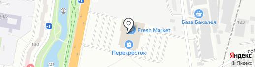 Оранж на карте Благовещенска