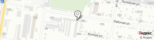 ЗеленСтрой на карте Благовещенска