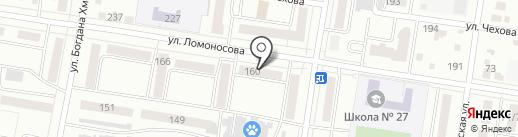 Копеечка на карте Благовещенска