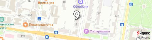 Амурский дом Партнер на карте Благовещенска