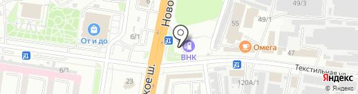 АЗС ВНК на карте Благовещенска