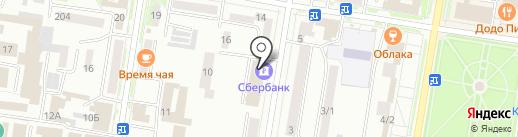 Сбербанк, ПАО на карте Благовещенска