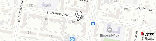 Тутто Минутто на карте Благовещенска