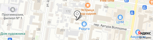 Subclub на карте Благовещенска