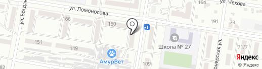 Семейная аптека на карте Благовещенска