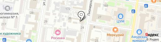 Rec-Media на карте Благовещенска