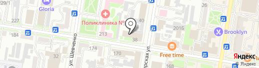 Ростелеком на карте Благовещенска