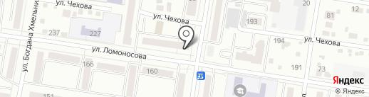 Акуна матата на карте Благовещенска