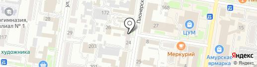 РЕК-МЕДИА на карте Благовещенска