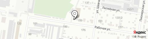 Ратибор на карте Благовещенска