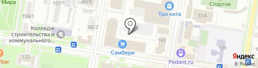 РЫБАК на карте Благовещенска