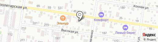 Блок на карте Благовещенска