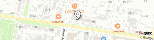 AMORE+FIORI на карте Благовещенска