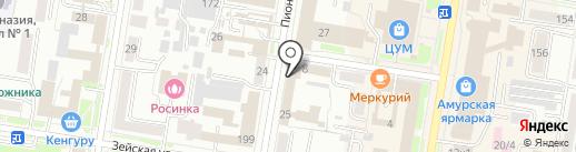 УФСИН на карте Благовещенска