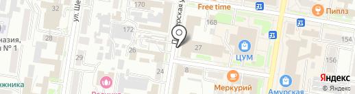 Почта России, ФГУП на карте Благовещенска