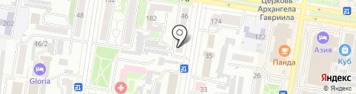 Автоколонна 1275, МП на карте Благовещенска