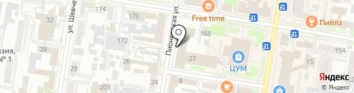 ЦентрИнформ на карте Благовещенска