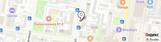 Мастерская по ремонту обуви и кожгалантереи на карте Благовещенска
