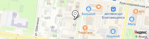 Mobile на карте Благовещенска
