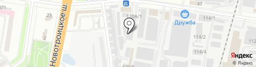 Наш склад на карте Благовещенска