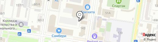Россиянин на карте Благовещенска