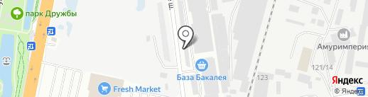 Торговая компания на карте Благовещенска