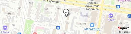 Прокуратура Амурской области на карте Благовещенска