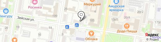 Элит-Академия на карте Благовещенска
