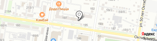 Мёд-пункт на карте Благовещенска