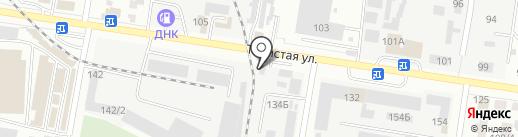 100 колес на карте Благовещенска